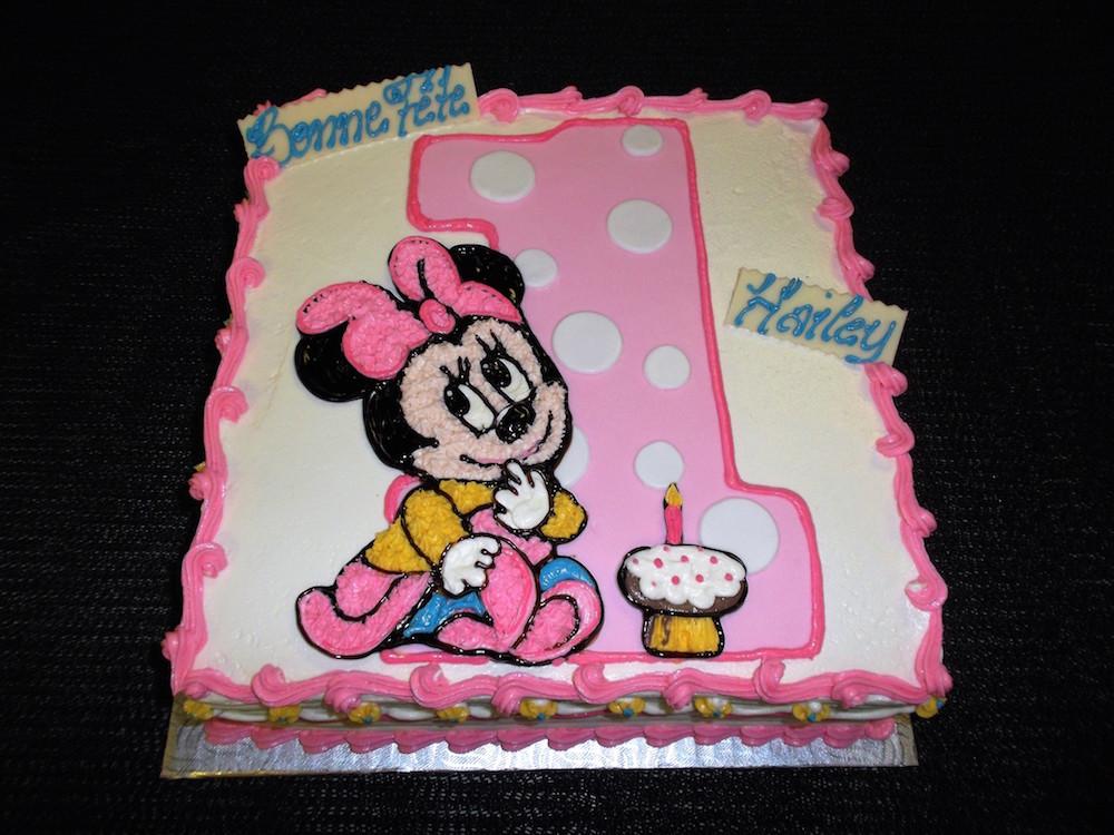 Gâteau Minnie Mouse Boulangerie Lamontagne